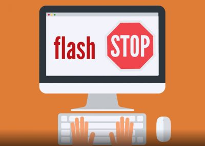 Flash is gone –  HTML5 is here to stay