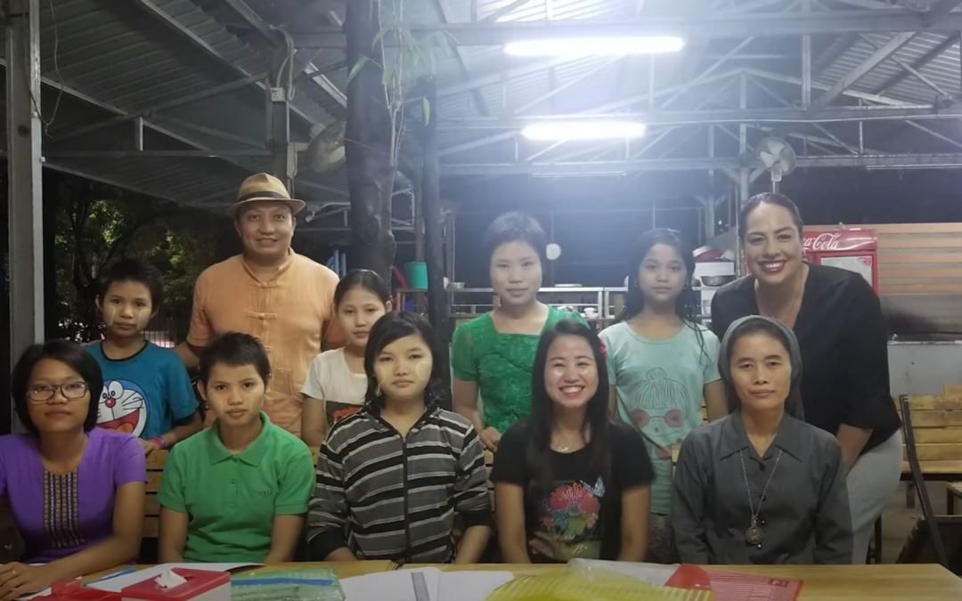 Building new opportunities for Myanmar's youth